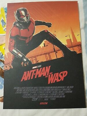 Ant-Man And The Wasp Odeon Poster