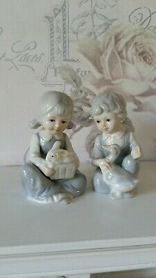 'Boy And Girl' Ornaments