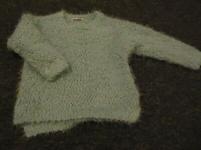 Next Gorgeous pale green long sleeve girls soft Jumper age 3 years