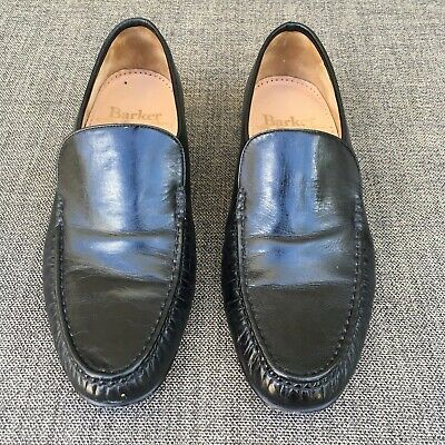 a135e17751 Barker English Shoes Black Wade Loafer Size UK size 7.5 Handmade in England