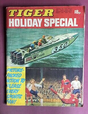 TIGER HOLIDAY SPECIAL - 1973, Featuring Roy Of The Rovers. RARE