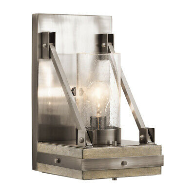 Kichler Lighting 43436CLP Colerne Wall Sconce Classic Pewter