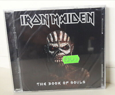 Iron Maiden The Book of Souls Doppio  CD Nuovo Sigillato