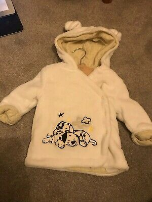 Disney Dalmation Dressing Gown Brand New 0-3months