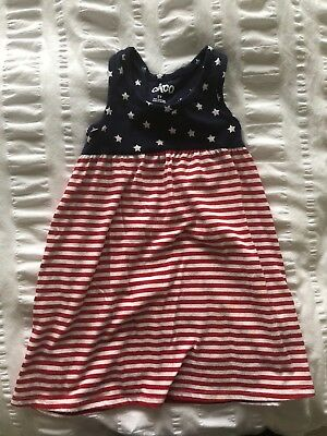 6742d92bd69 TODDLER GIRL YOUNGLAND USA PATRIOTIC STARS   STRIPES DRESS- SIZE 2T ...