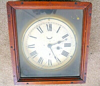 Antique / Vintage Wall Clock Seth Thomas. Ships  /  Factory / Office.