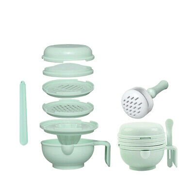 BPA Free Baby Food Mill Grinding Bowl Set Grinder Processor Multifunction