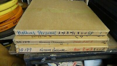 16mm film NOTHING PERSONAL