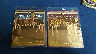 Masterpiece: Downton Abbey - Season 1 and 3 (Blu-ray)   New - Sealed