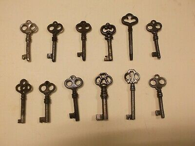 Antique And Vintage Keys.decorative Patterns.job Lot.