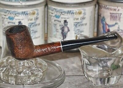 Large MEDICO Imported Briar 1/4 Inch Filter Tobacco Pipe