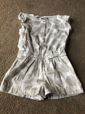 Vertbaudet Girls Jumpsuit Playsuit Age 3 Years Wedding