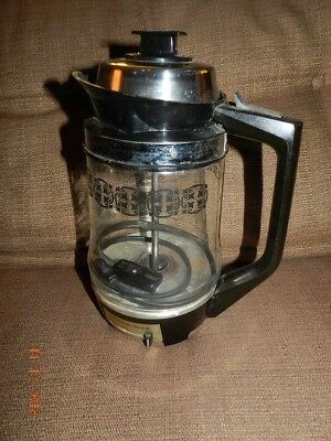 Vintage Proctor Silex Electric Percolator P2088A Glass Pot Coffee Maker