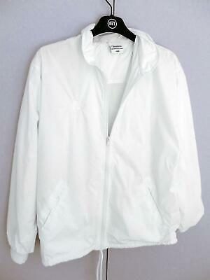 Lawn Bowls Clearance: NEW Domino White Rain Jacket Size 12/S POST INCLUDED