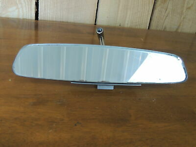 """Ford Rear View Mirror FoMoCo, Stainless, 10"""", Inc Mount, Vintage"""