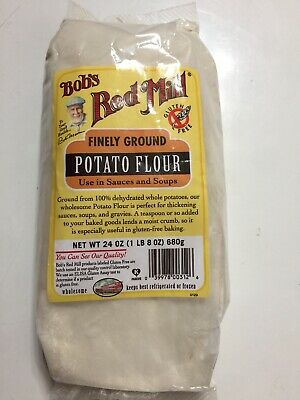 Bobs Red Mill Flour Gluten Free Potato, 24 Oz, Pack of 1, Highest quality