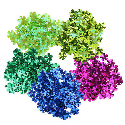 500Pcs Assorted Color Loose Sequins Flower Cup Sequins for DIY Arts Crafts