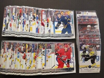 2018-19 Upper Deck Young Guns Series 1 & 2 U-Pick Finish Your Set
