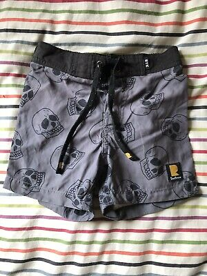 Rock Your Kid Size 5 Board Shorts Good Condition