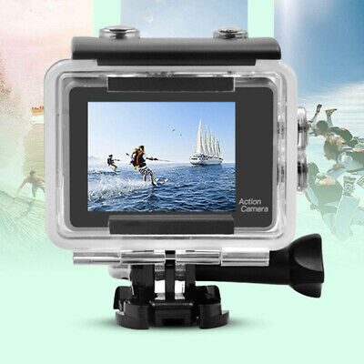 4K WiFi 16MP Waterproof Action Camera Travel +Touch Screen Remote Control Cam