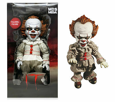 "Mezco Designer Series IT 2017 Mega Scale 15"" Talking Pennywise Figure *In Stock"