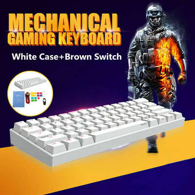 ANNE PRO 2 Gateron Brown Switch RGB Mechanical bluetooth Backlit Gaming Keyboard
