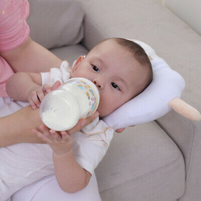 Soft Cotton Anti-Flat Head Pillow Feeding  Nursing Head Pillow for Newborn Baby