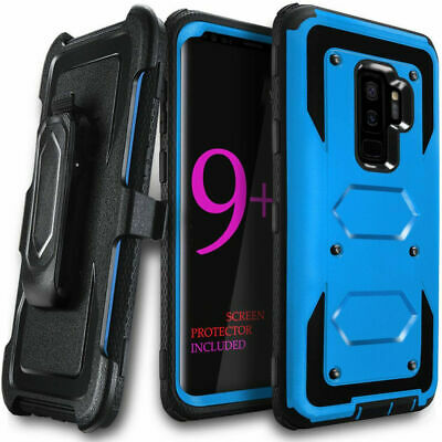 360° Shockproof Heavy Duty Armor Clip Case Cover for Samsung Galaxy S10 S9 Plus