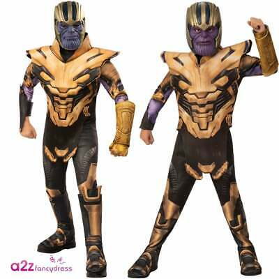 Boys Villain Thanos Costumes Marvel 2019 AVENGERS ENDGAME Superhero Fancy Dress
