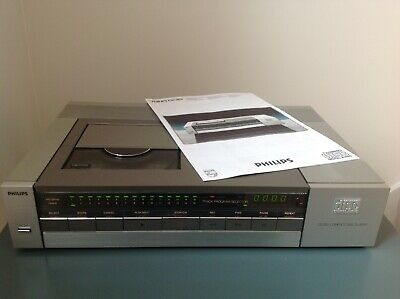 PHILIPS CD-202. Vintage CD Player. SERVICED / RECAPED. Please Read full details.