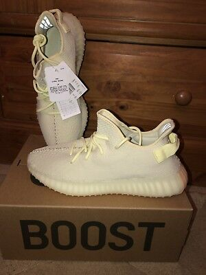 new arrivals b7d87 58f46 Adidas Yeezy boost 350 v2 butter Men s Trainers UK 10 Consortium Kanye West