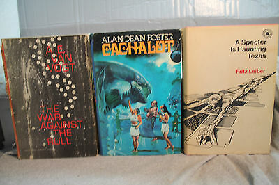 Lot Vintage Ans Science-Fiction A Specter Is Hantée Texas The War Against Rull