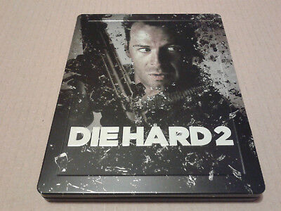 Die Hard 2: Die Harder Blu-ray Steelbook Zavvi Exclusive - Like New
