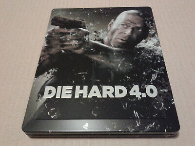 Die Hard 4.0 Live Free or Die Hard Blu-ray Steelbook Zavvi Exclusive - Like New