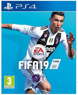 FIFA 19 FOOTBALL PS4 Game NEW SEALED - UK PAL for Sony Playstation 4 - fast post