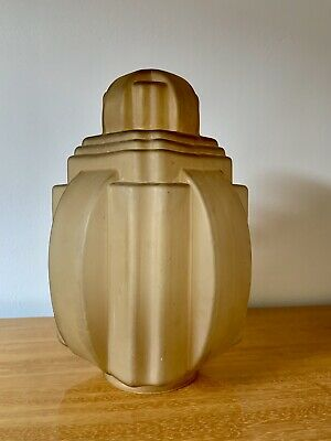 Art Deco Stunning Large Skyscraper Chandelier Ceiling Light Very Good Condition
