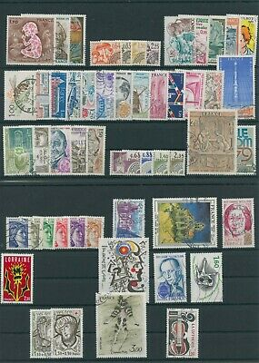 Frankreich France Jahrgang yearset annee 1979 gestempelt used ohne no 2179