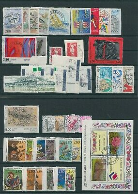 Frankreich France Jahrgang yearset annee 1993 gestempelt used ohne no 2939,2964