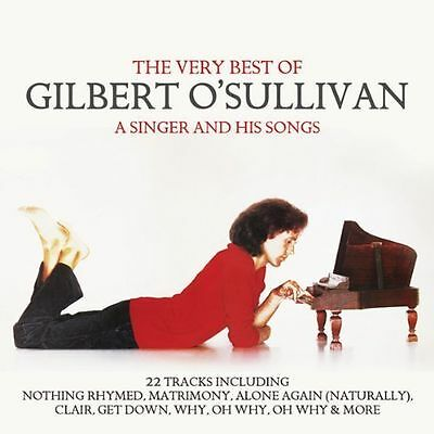 The Very Best Of Gilbert O'sullivan - Greatest Hits Cd - Get Down / Clare +
