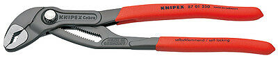 "KNIPEX Cobra Water Pump Pliers with Push Button 250mm 10"" - 87 01 250 - 75357"