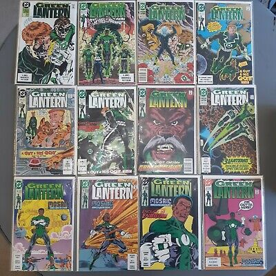 DC comics 1990 Green Lantern  36 Comic Book lot Issues 50, 51, #100 and more