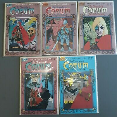 First Comics Michael Moorcock's The Chronicles of Corum #1-5