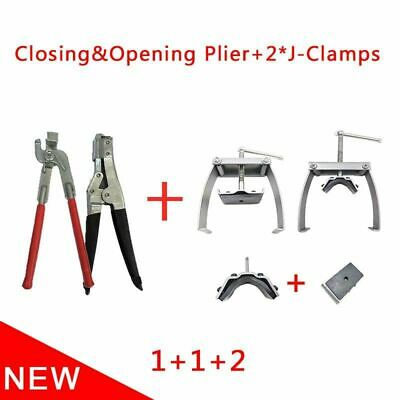 Repair Tools for Radiators Closing Header, Tab Lifter and Header J-Clamp