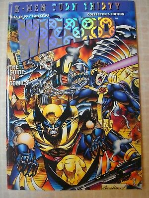 Wizard The Guide To Comics July 1993 X-Men Turn 30 Special Edition 8 14 34 61