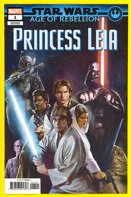 Star Wars: Age of Rebellion - Princess Leia #1 Connecting Promo Variant *NM*