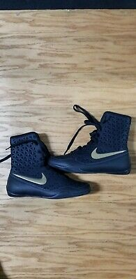 62df83061728 Nike KO Boxing Shoes Boots Boxen Schuhe Chaussures de Boxe sz 6 (like new)
