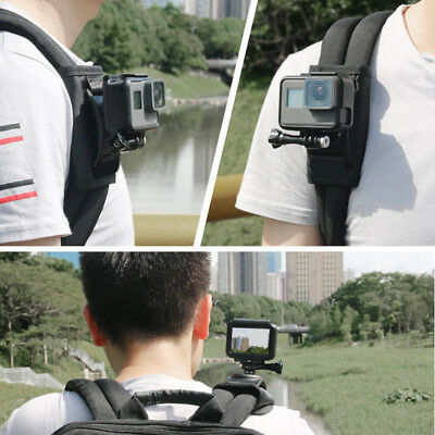 Cycling Backpack Mount Bracket Holder For GoPro Hero 4/5/6 Accessory Camera 2019
