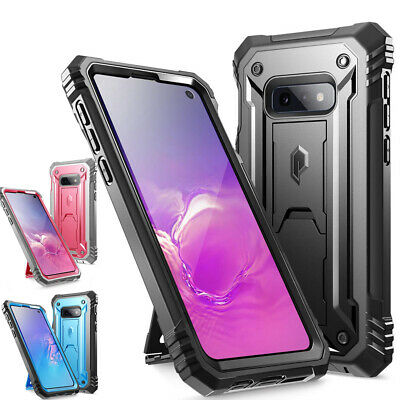 Galaxy S10e Kickstand Rugged Case Poetic Full-Body Dual-Layer Shockproof Cover