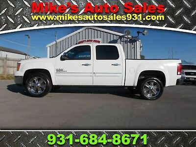 2011 GMC Sierra 1500 2011 GMC SIERRA 1500 CREW CAB SLE WITH LEATHER LEATHER BUCKET SEATS! CARFAX CERTIFIED!! NICE AND CLEAN!