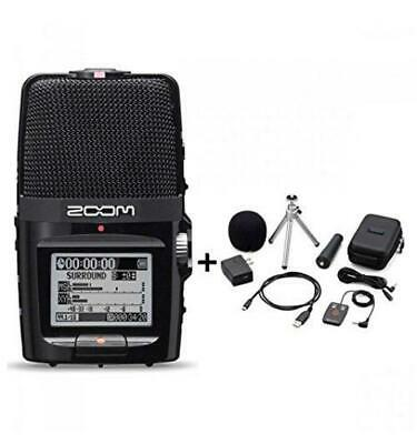 NEW ZOOM H2n Handy Portable Recorder PCM / Accessoary Kit APH-2n From JAPAN F/S